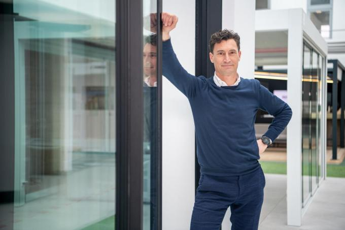 Ceo Xavier Costenoble zag Winsol in 2020 met 30 procent groeien. (foto Frank)© Frank Meurisse
