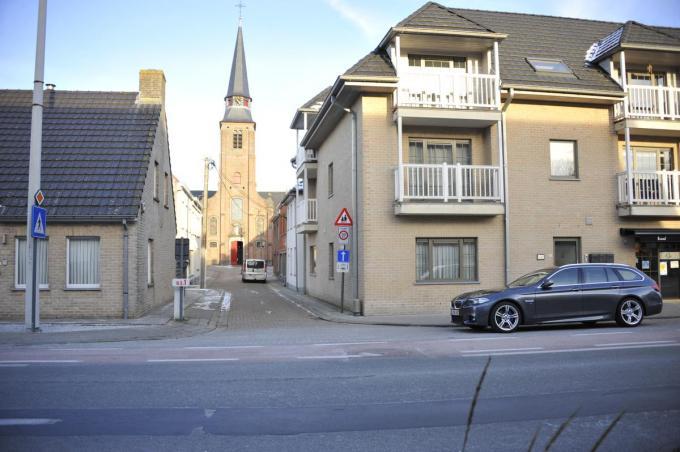 Kortrijksestraat kerkstraat in Waardamme© GS