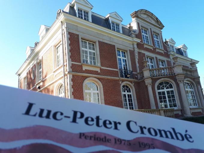 De tentoonstelling van Luc-Peter Crombé start op 27 februari in kasteel Wallemote.