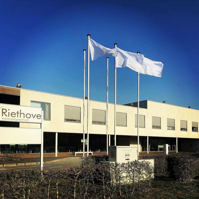 In woonzorgcentrum Riethove worden de coronamaatregelen ietwat versoepeld.© LIN