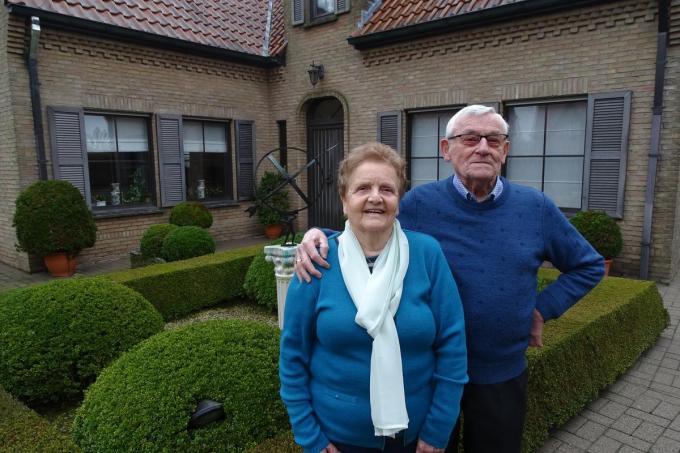 Op 8 februari 1961 traden Gerard Verstraete met Yvonne Lanckriet© WV