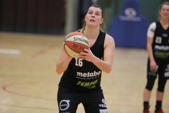 Sien Devliegher had een groot aandeel in de overwinning van haar ploeg.© (Foto ELD)