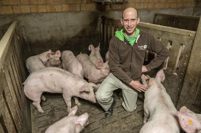Wim Wyseur is woordvoerder van Groene Kring. (foto SB)©STEFAAN BEEL Stefaan Beel