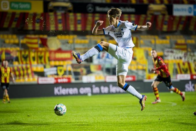 Charles De Ketelaere in actie bij Club Brugge.© BELGA