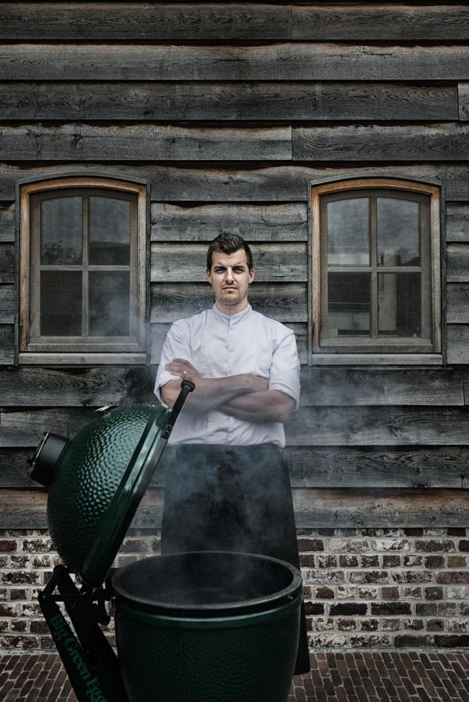 Chef Joost Meire van d'Afspanning. (Foto Westtoer)