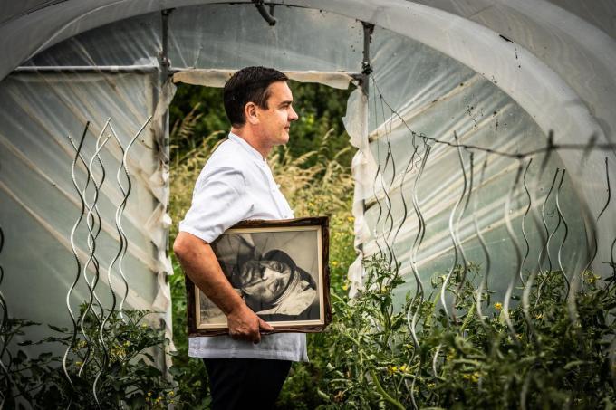 Chef Iain Wittevrongel van restaurant Mondieu. (Foto Westtoer)