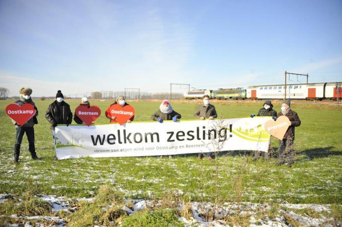 De duurzame energie groep Oostkamp is pro De Zesling. (foto GST)