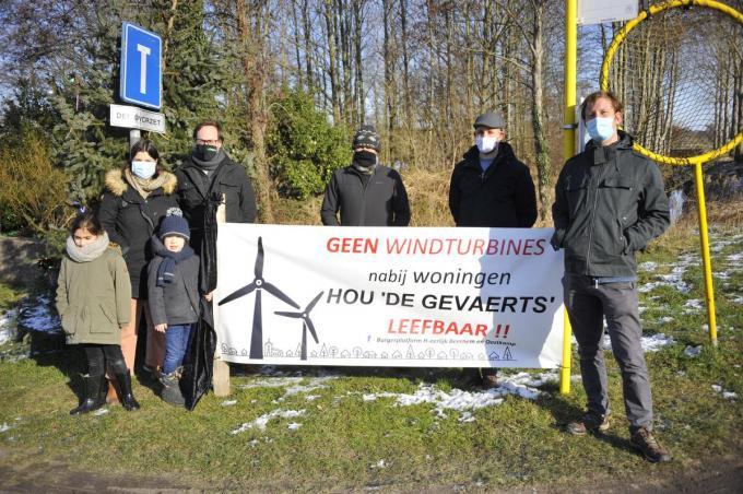 Buurtbewoners zijn tegen de komst van De Zesling. (foto GST)
