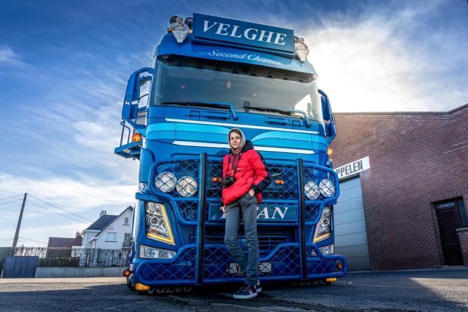 """Thibe : """"Mijn foto's gaan Vlaanderen rond.""""©Wouter Meeus"""