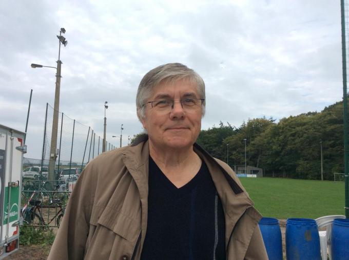 Guido Vandille blijft de onmisbare schakel langs de Brieversweg. (foto JPV)
