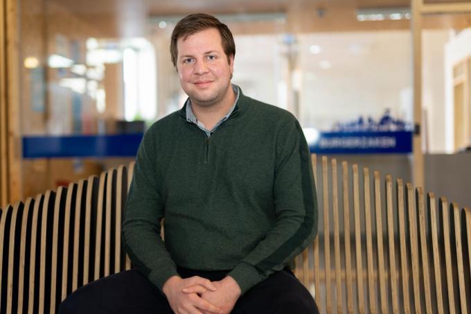Met zijn 31 jaar is Jurgen Vergauwe een van de jongste algemeen directeurs van Vlaanderen. (foto LC)©luc cassiman