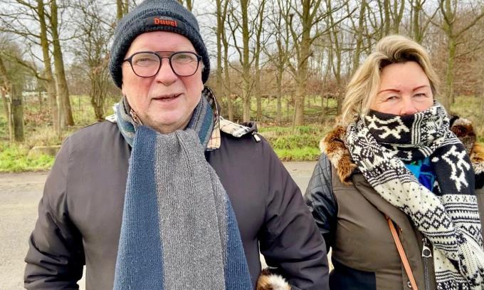 Ferdi en Marleen Naert: wandelen voor de gezondheid© KVdm
