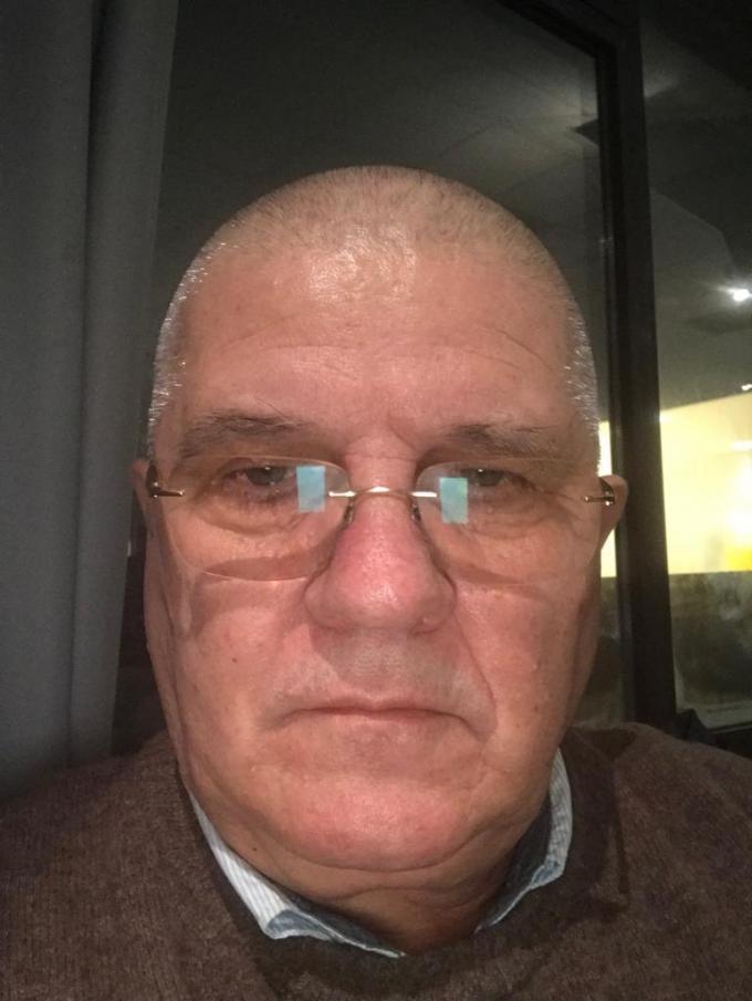 Marcel Strainu (66), een vrachtwagenchauffeur uit Zeebrugge.© TL