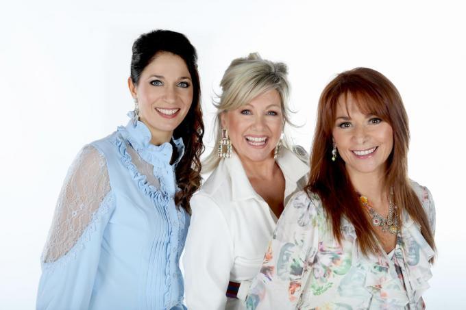 Sasha, Lindsay en Lisa Del Bo.© Christelle Verstraete