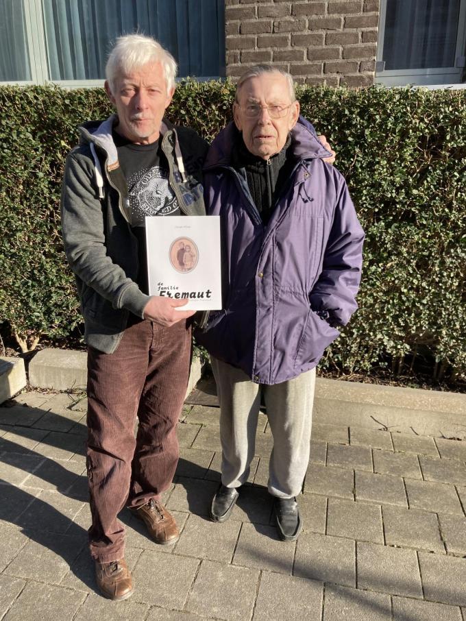Georges Hiltrop en Roger Fremaut. (foto BVO)