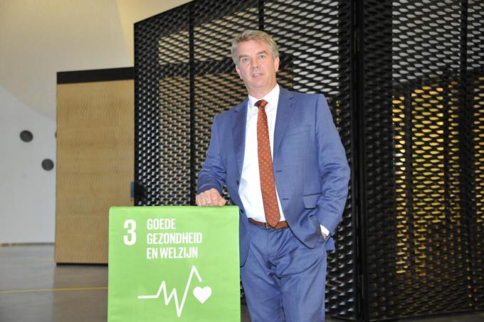 Burgemeester Jan de Keyser kreeg wat kritiek te verduren nadat beslist werd basisschool De Kiem preventief enkele dagen te sluiten.© foto GS