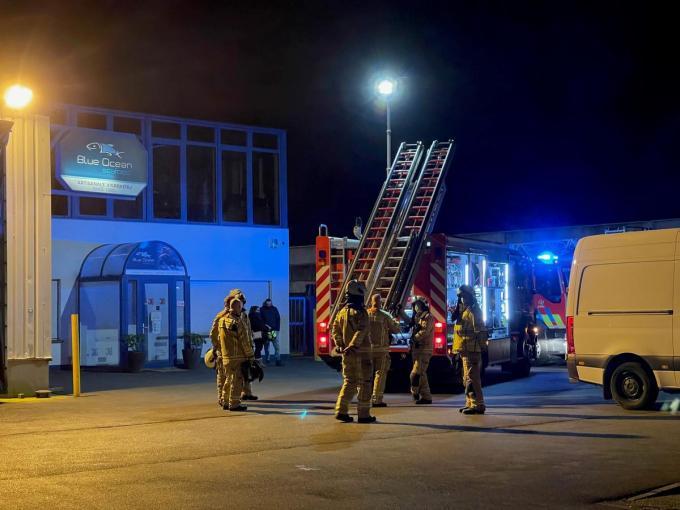 Veel hadden de brandweermannen niet te doen.© JVMA