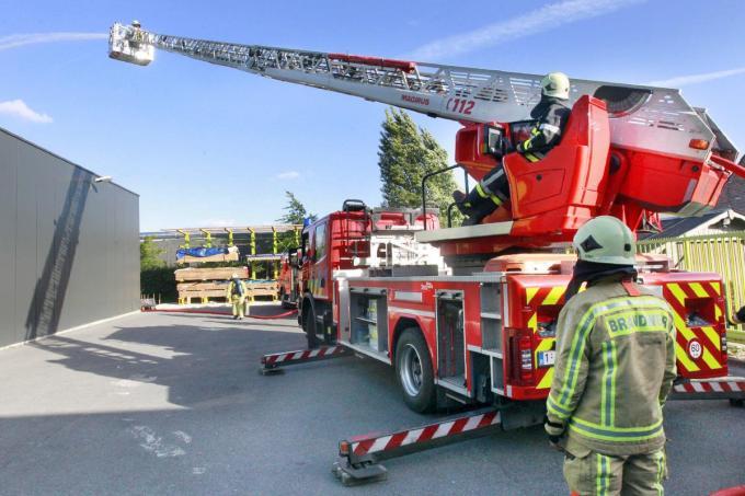 De verschuivingen in het wagenpark van de hulpverleningszone zijn de spreekwoordelijke druppel voor de Torhoutse brandweervrijwilligers.©Johan Sabbe