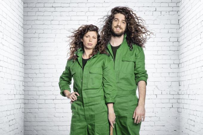 Jerina en Harry gaan eveneens de strijd aan.© VTM