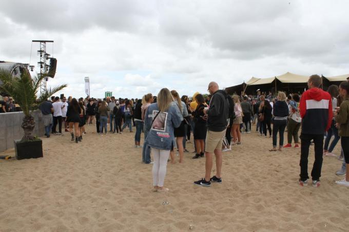 Ostend Beach lokt jaarlijks zo'n 15.000 bezoekers.© foto JRO