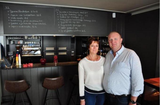 Ann Denys en Thierry Verschueren zijn gestopt met Moeder Jeanne en openen straks Lots.© foto PJW
