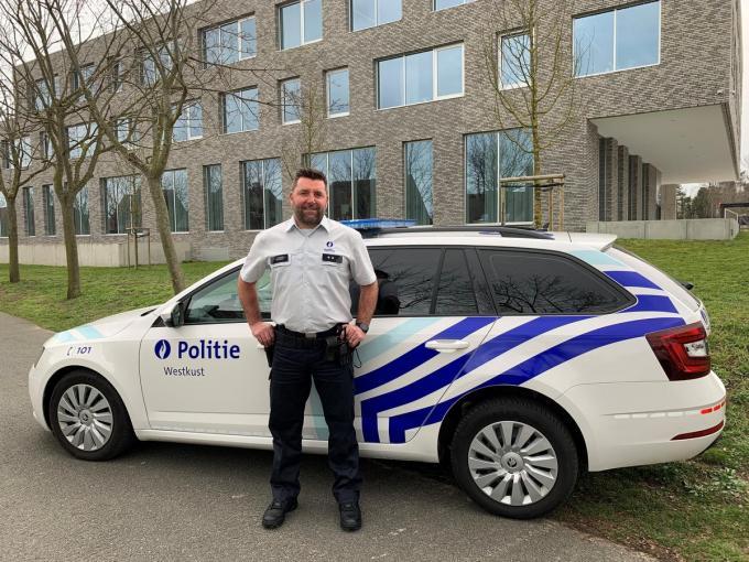 Nieuwe wijkinspecteur Tony De Dycker.©MYRIAM VAN DEN PUTTE MVO