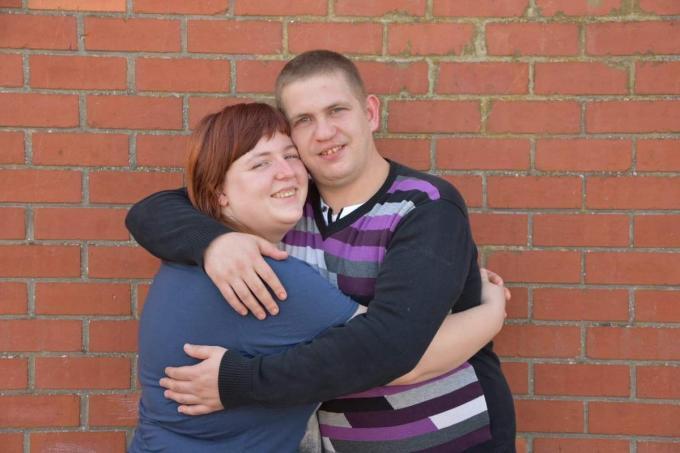 Sharon en Nicolas, één gelukkig jong paar.© PADI/NS