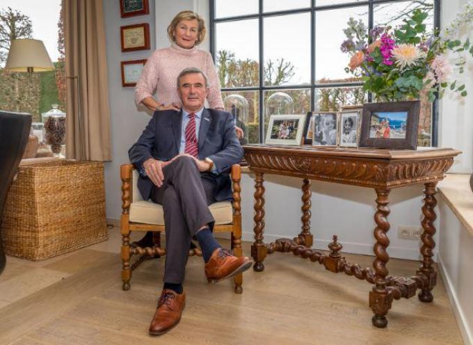 Hendrik Verkest, hier met zijn echtgenote Mia Verschuere, mag zich binnenkort ereburgemeester noemen.©Philippe Verhaest WME