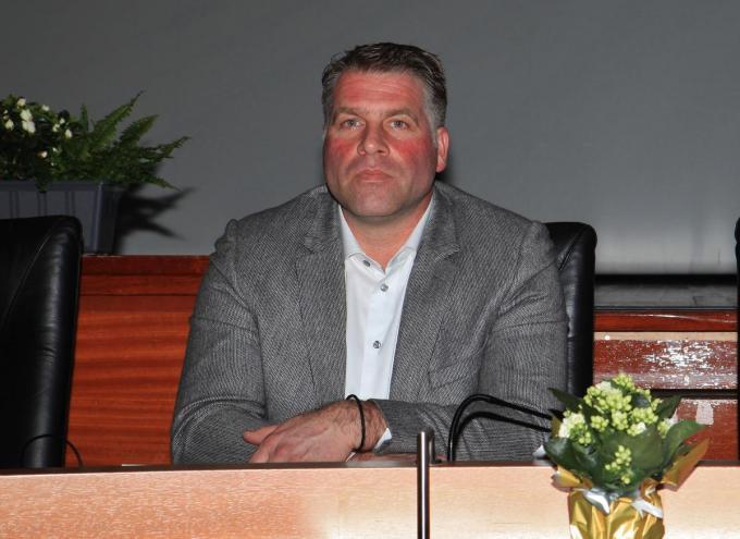 Burgemeester Bram Degrieck van De Panne.© MVO