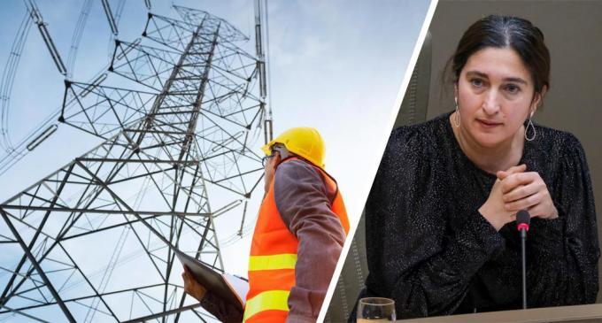 Minister Zuhal Demir (N-VA) wil met een intendant de hoogspanning van het Ventilus-project wegnemen.© Getty/Belga