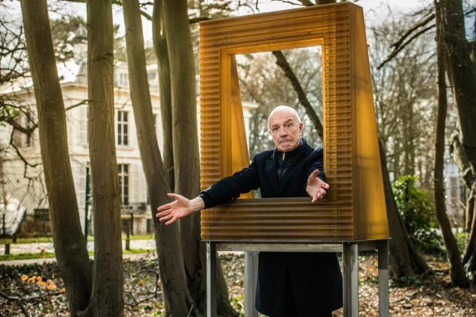 """Geert Hoste: """"Je kan dan wel uit West-Vlaanderen verhuizen, West-Vlaanderen verhuist nooit uit jou.""""© Kris Van Exel"""