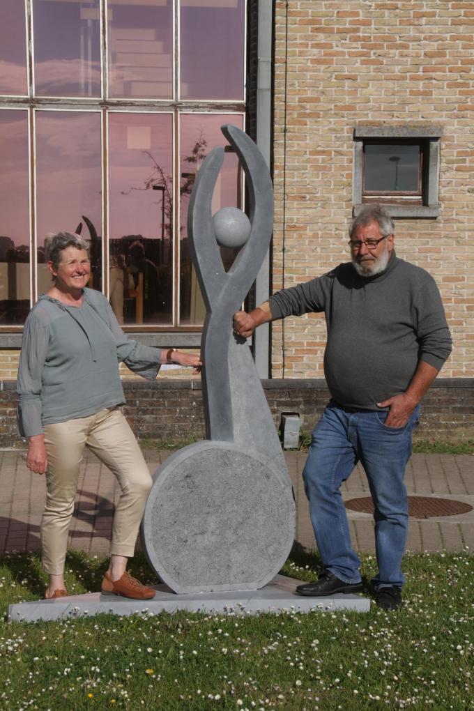 Onder andere Leen Verlet en Geert Vlaeminck stellen hun werk tentoon.© pco