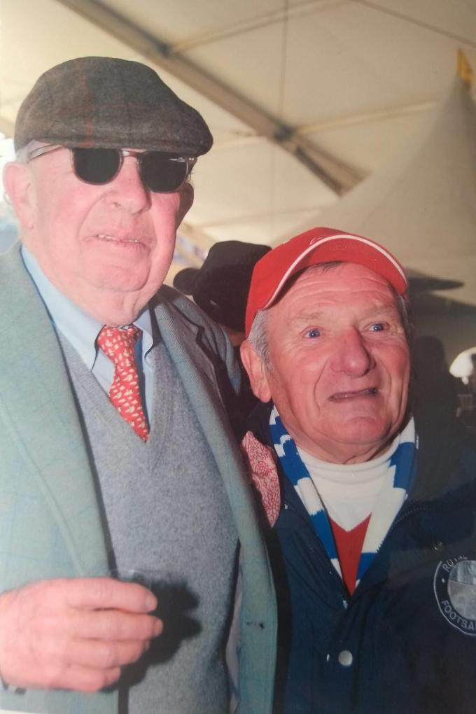 """Jacky Sys, ruim 20 jaar de caddie van Leopold Lippens: """"Hij had veel vertrouwen in mij.""""© gf"""