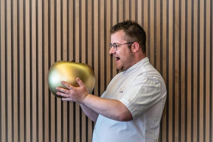 Chef Antoine Rabaut van Feu d'Or. (Foto Westtoer)