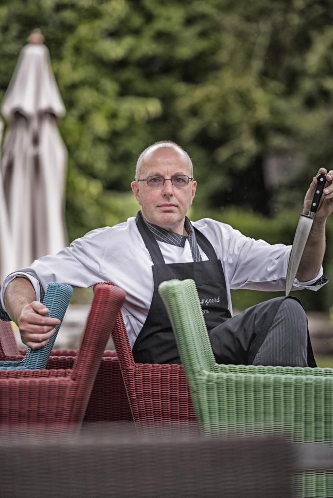 Chef Geert Vandermersch van Ter Weyngaerd. (Foto Westtoer)