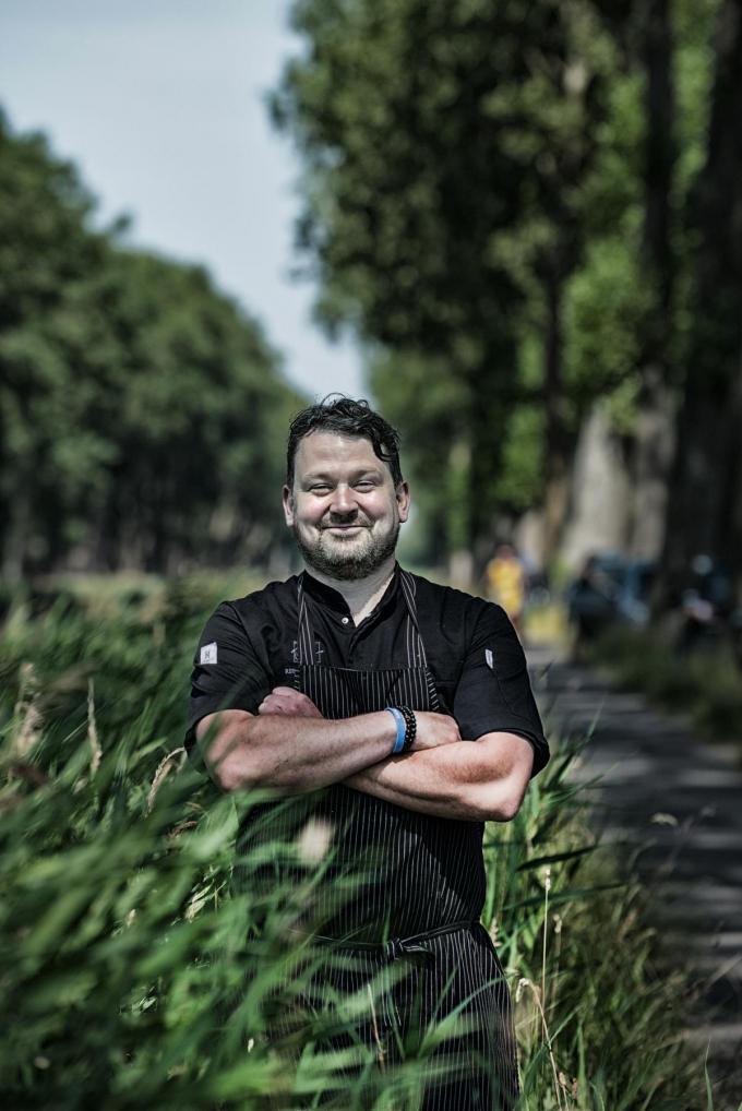 Chef Patrick Van Hoorn van De Zuidkant. (Foto Westtoer)