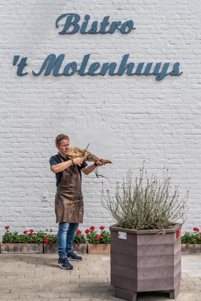 Chef Jean-Philip De Wilde van 't Molenhuys. (Foto Westtoer)