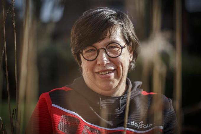 Voorzitter Dorine Desmet. (foto JS)©jan_stragier Jan Stragier