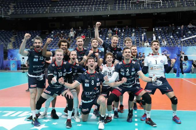 Knack won zondag nog de Beker van België.©VDB / Bart Vandenbroucke VDB