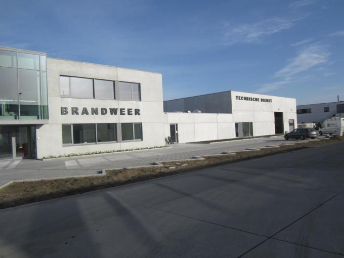 De nieuwe site voor de brandweer en technische dienst.© RV