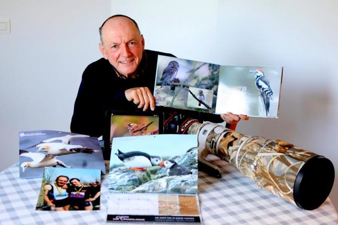 Christian Vandeputte krijgt heel wat erkenning voor zijn foto's, vanuit binnen- en buitenland. (foto ELD)©ELD