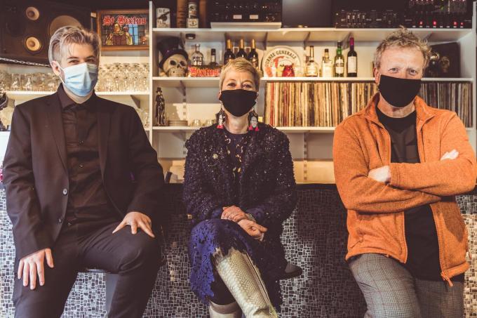 Tristan Vandeputte, Sabrine Desaever en Peter Slabbynck.© Ghilain Vermeersch