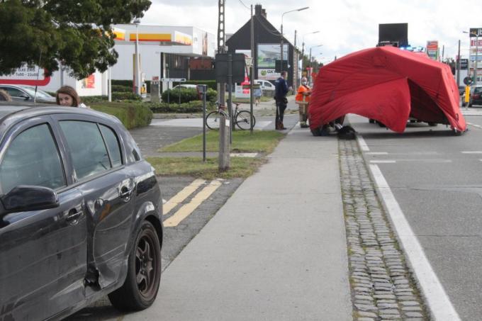 Het fatale ongeval gebeurde op 24 september 2020 in Roeselare.© LSi