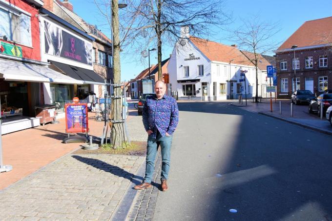 Raadslid Patrick Claerhout wilde naar eigen zeggen een constructief voorstel doen op de gemeenteraad (Foto LO)©LUDO-OSTIJN