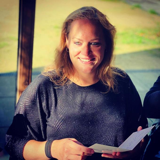 Stephanie Chenau leidt de Young Professionals Wervik (foto ED)