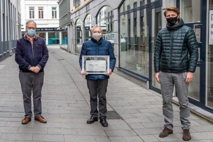 Lieven Maertens, Ignace Vanneste en Axel Ronse (foto KDS)©Kurt De Schuytener Kurt De Schuytener