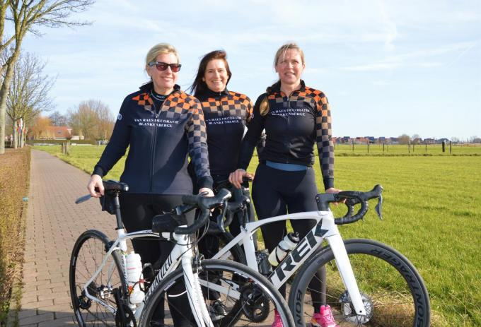 Brenda Kempener, Annick Renders en Cathy Billiet. (foto WK)©WK