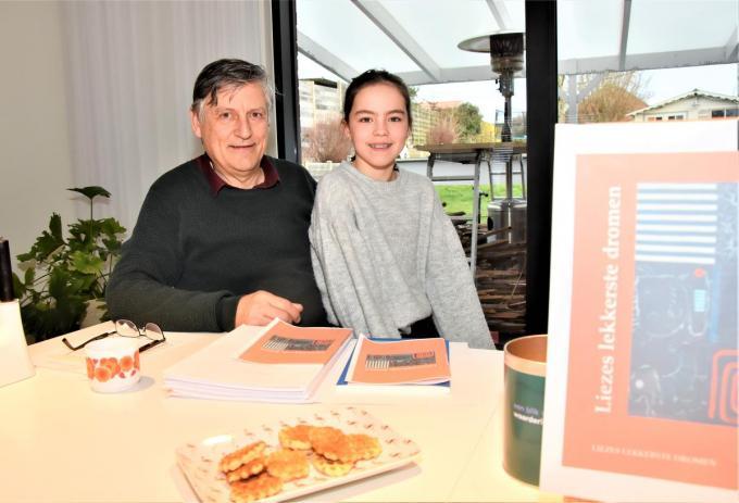 Jan Loosveld en kleindochter Lieze.©LUDO-OSTIJN Loo