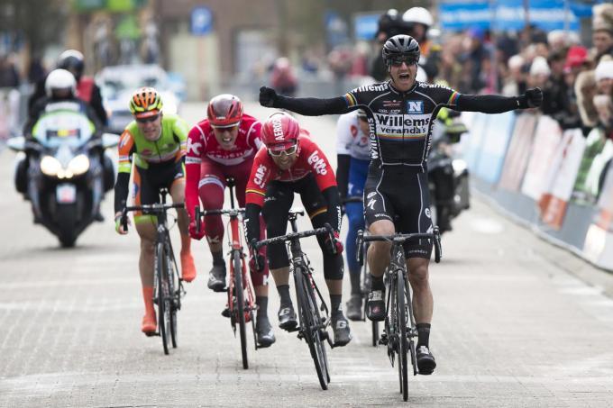 Winst in de Driedaagse van West-Vlaanderen.© BELGA