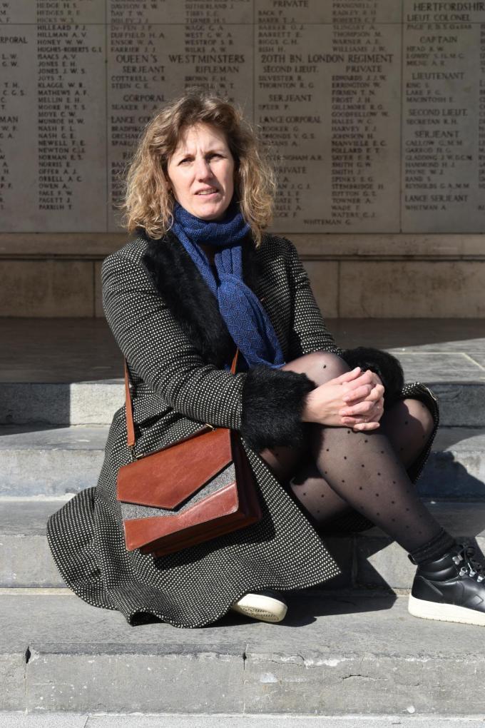 """Barbara Decramer: """"Als muco-ouder ben je al langer gedrild in het nemen van hygiënemaatregelen.""""© TOGH"""